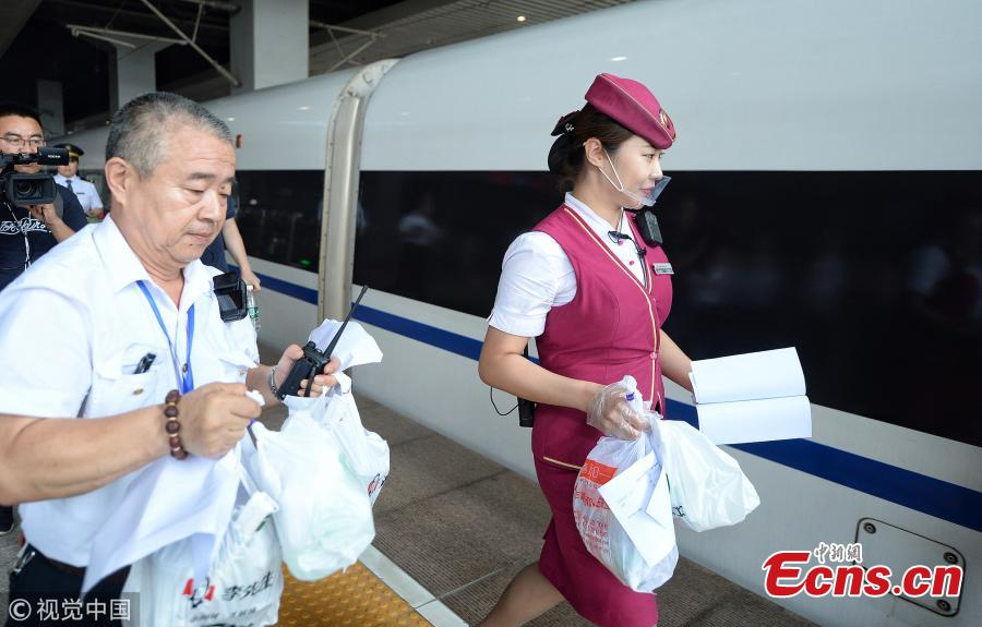Bullet train passengers can now order food online one hour earlier