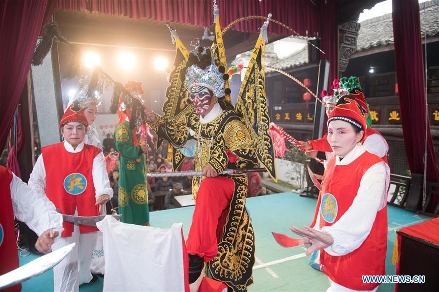 China's intangible cultural heritage: Xilu 'luantan'