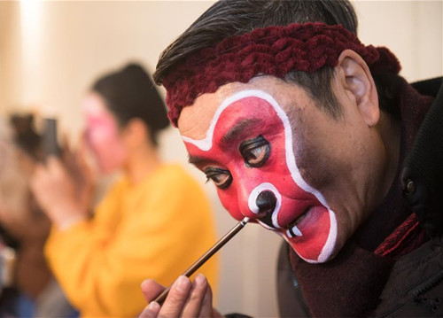 Monkey performance of Shaoju handed down over generations