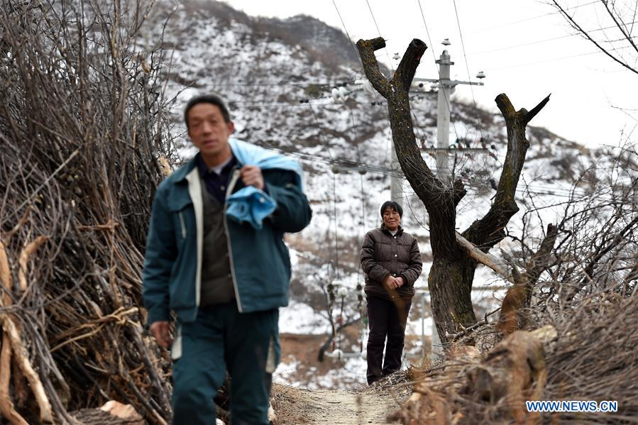 60-year-old postman working in mountainous area for 30 years