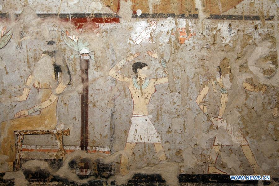 Old Kingdom Pharaonic tomb discovered in Egypt's Giza