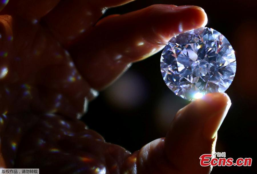 'Flawless' white diamond could fetch over $33.7 million