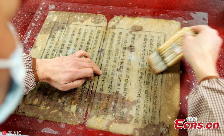 Man enjoys giving new lease of life to old books