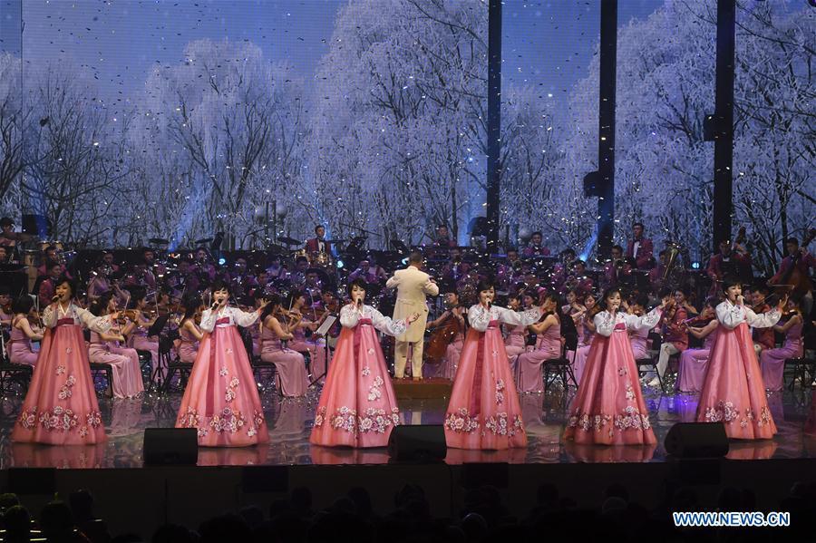 DPRK's art troupe arrives in S. Korea for performances celebrating Winter Olympics