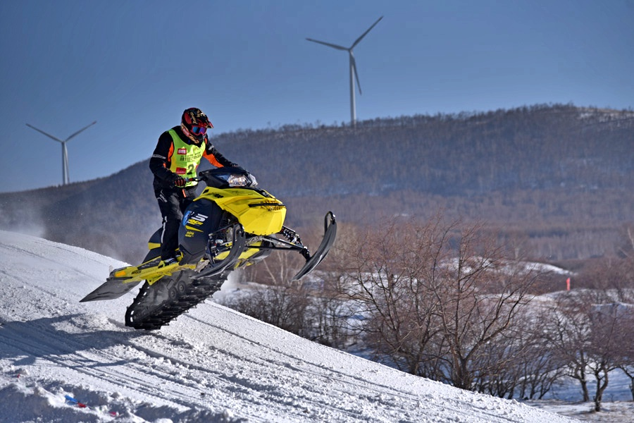 National Snowfield Motorbike Championship concludes