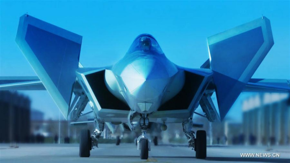 In pics: J-20 stealth jet put into air force combat service