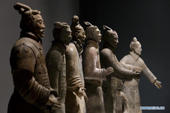 Terracotta Warriors go on display in UK museum