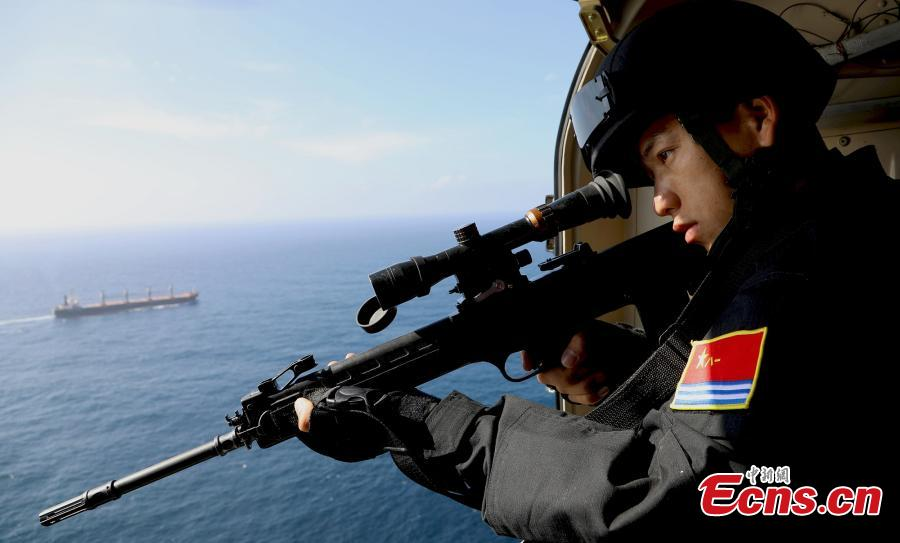 Chinese naval frigate completes UNWFP escort mission