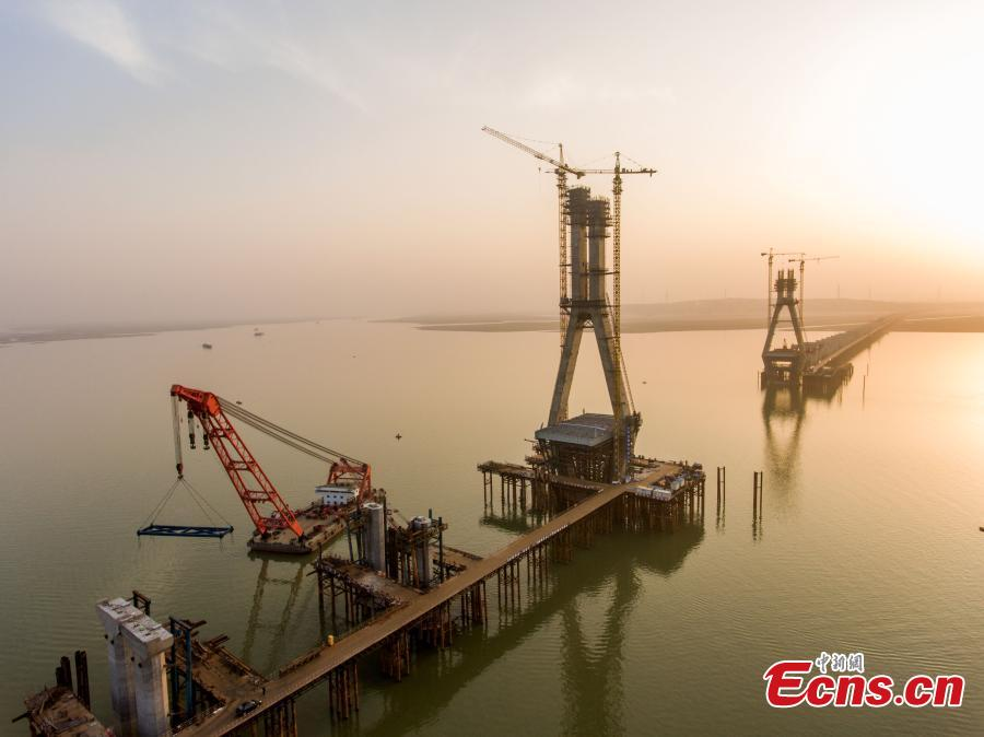 Bridge over China's 'Bermuda triangle' to be complete by year-end