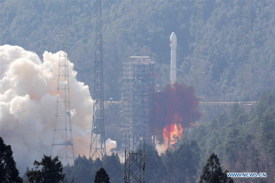 Twin BeiDou-3 navigation satellites sent into orbit