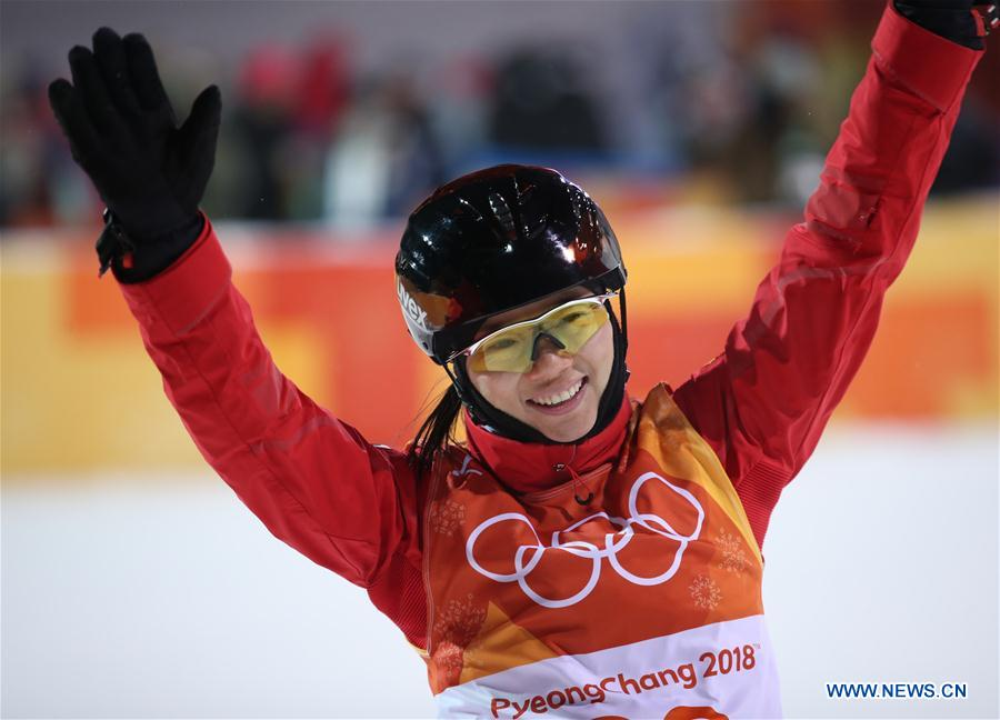 Zhang Xin claims China's third silver at PyeongChang Olympics