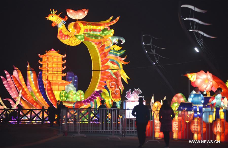 Lantern fair held in Hebei to celebrate Chinese New Year