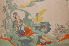 Murals depict Dunhuang's cultural legacy