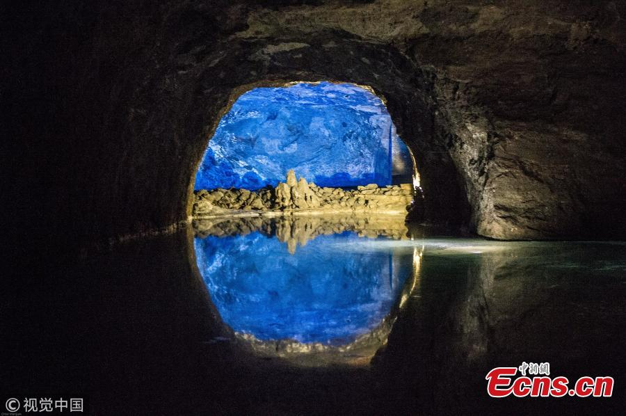 Seegrotte in Austria ? the largest underground lake in Europe