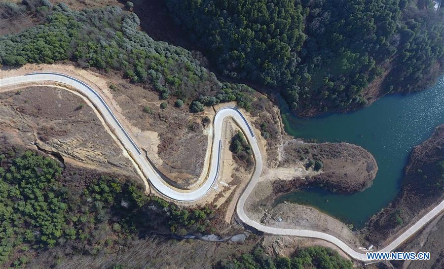 Improved rural roads in China's Yunnan facilitate traveling, economic growth