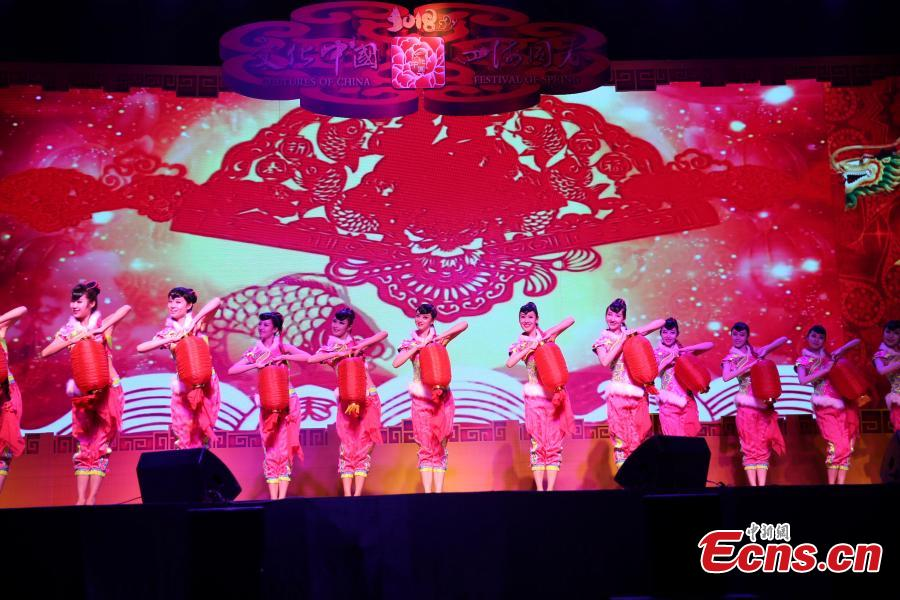 2018 Spring Festival gala for overseas Chinese held in Thailand