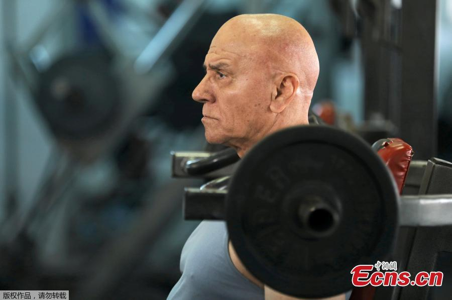 Meet the Egyptian bodybuilder at 80 years old