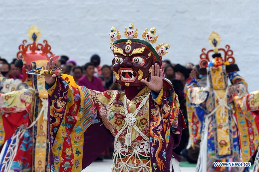 Annual ritual held in NW China to pray for blessing