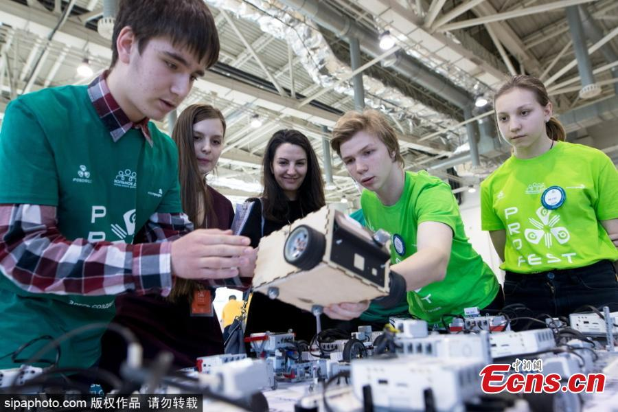 2018 RoboFest festival held in Moscow