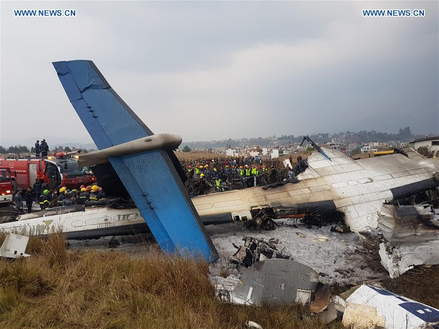 At least 49 killed in US-Bangla Airlines plane crash in Nepal, one Chinese onboard