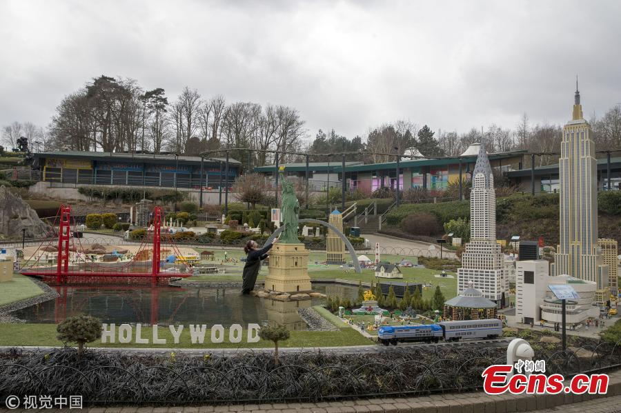 Legoland Windsor creates miniature versions of landmarks