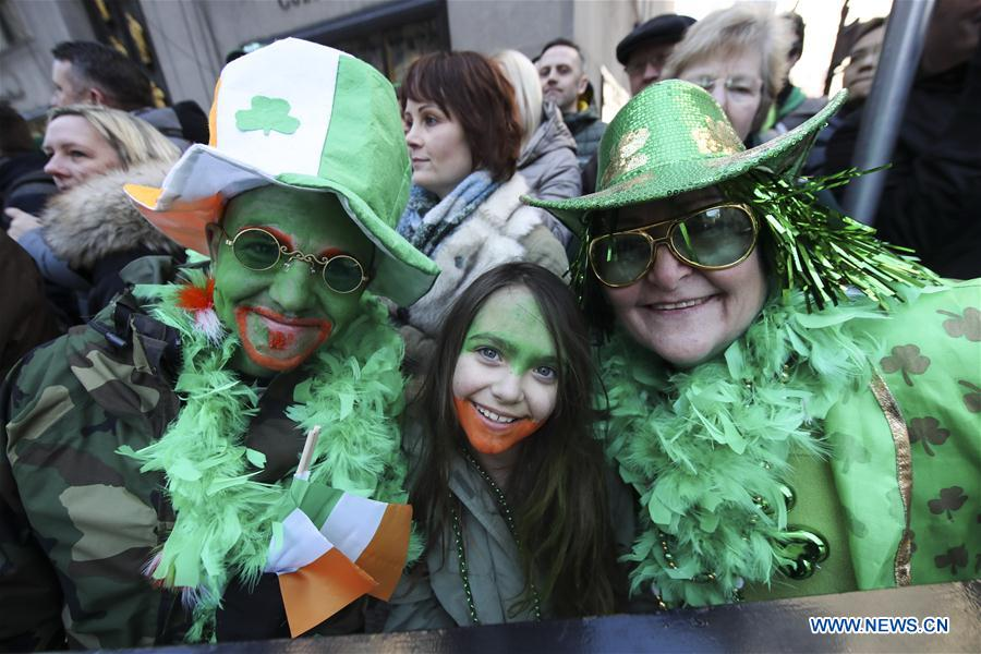 St. Patrick's Day celebrated around the globe