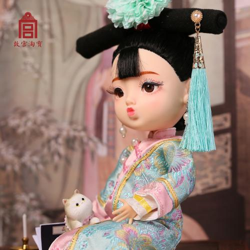 Palace Museum offers three varieties of Gege dolls