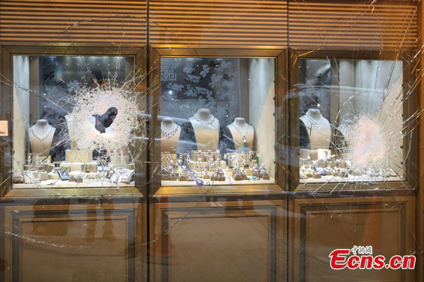 3 arrested after HK$40m robbery at Hong Kong jewelry store