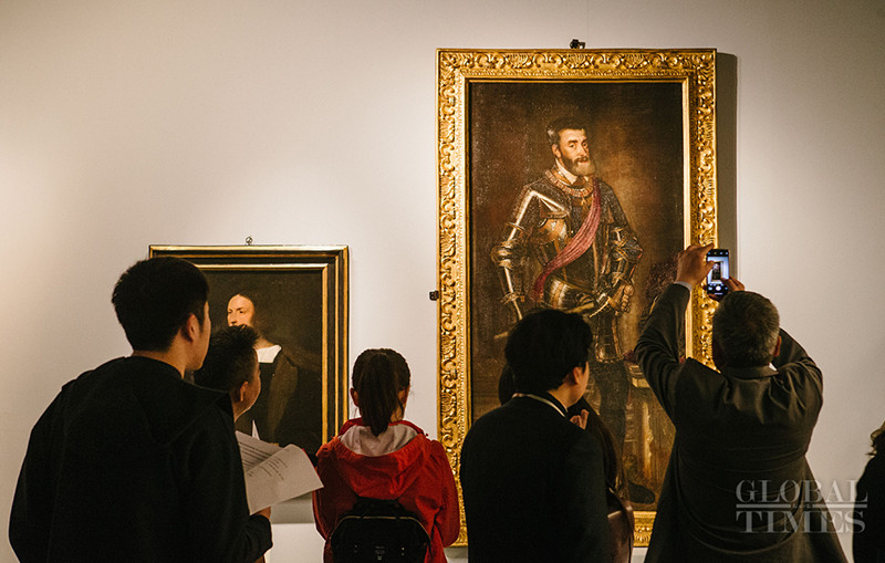 Italian Renaissance art pieces greet the Chinese public
