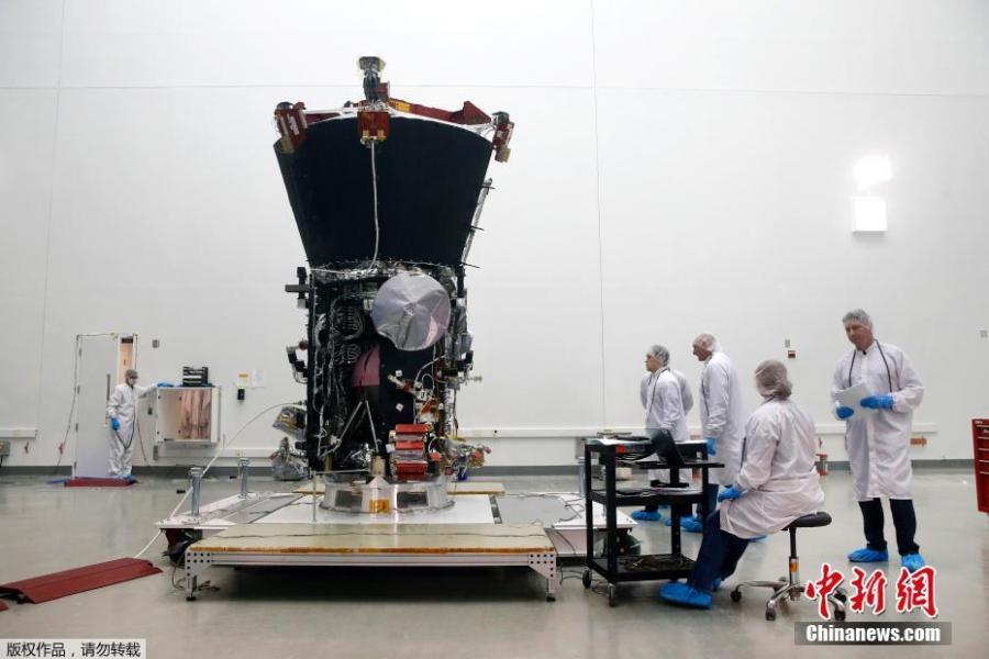 NASA readies Parker Solar Probe for 'mission to touch the Sun'