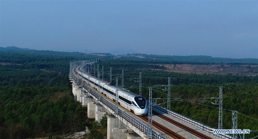 High-speed loop line in South China's Hainan