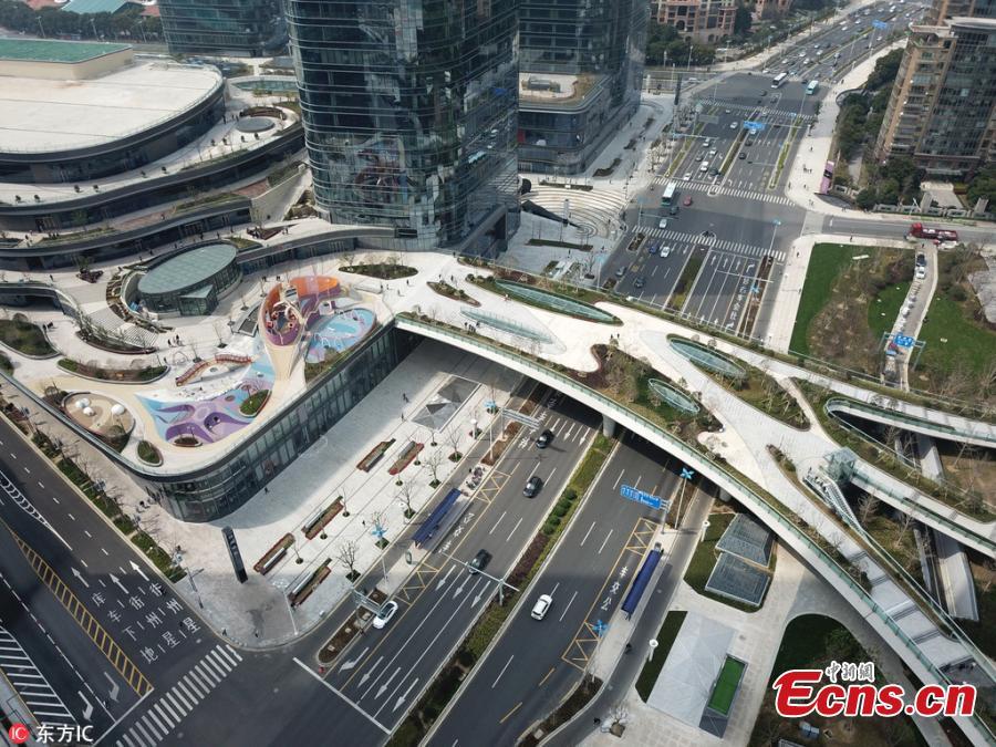 Beautiful footbridges open in Suzhou