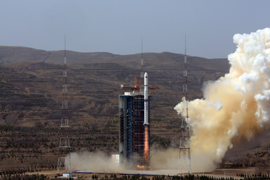 China launches high resolution earth observation satellites