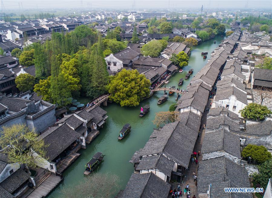 Temple fair held in historic town of Wuzhen