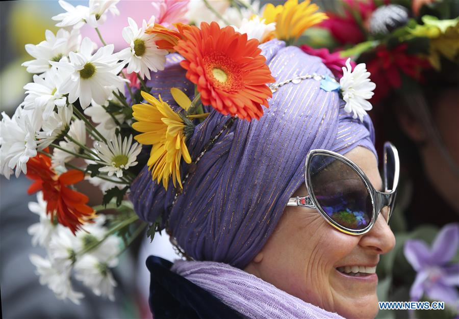 Amazing dressing style spotted in New York's Easter Parade