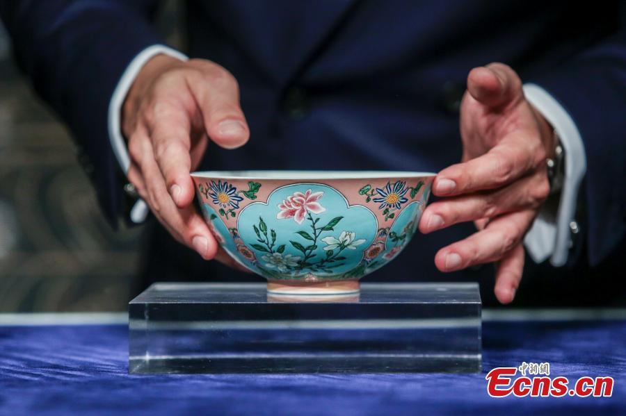 Rare Qing Dynasty bowl sells for HK$239 million