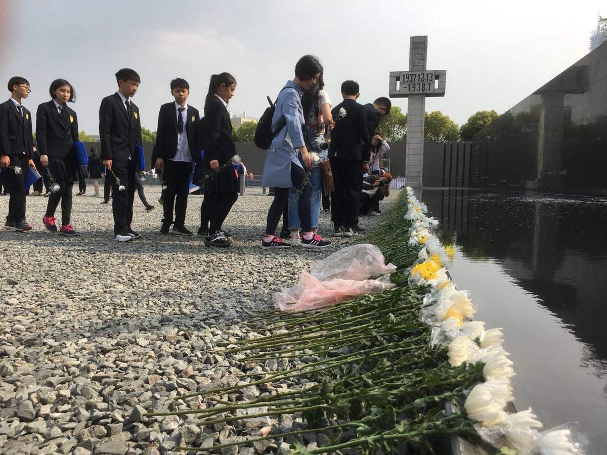 Nanjing massacre victims remembered for Tomb Sweeping Day