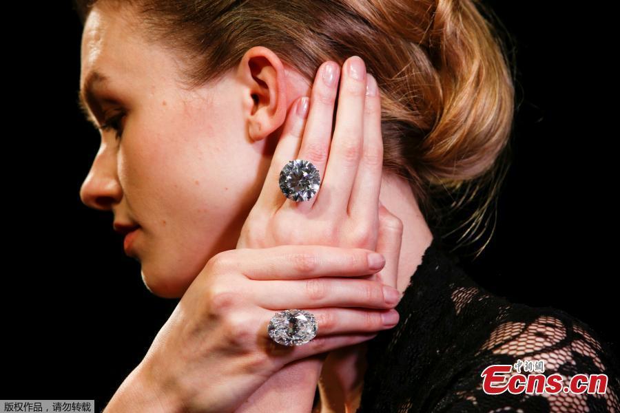 Flawless white diamonds to go on sale