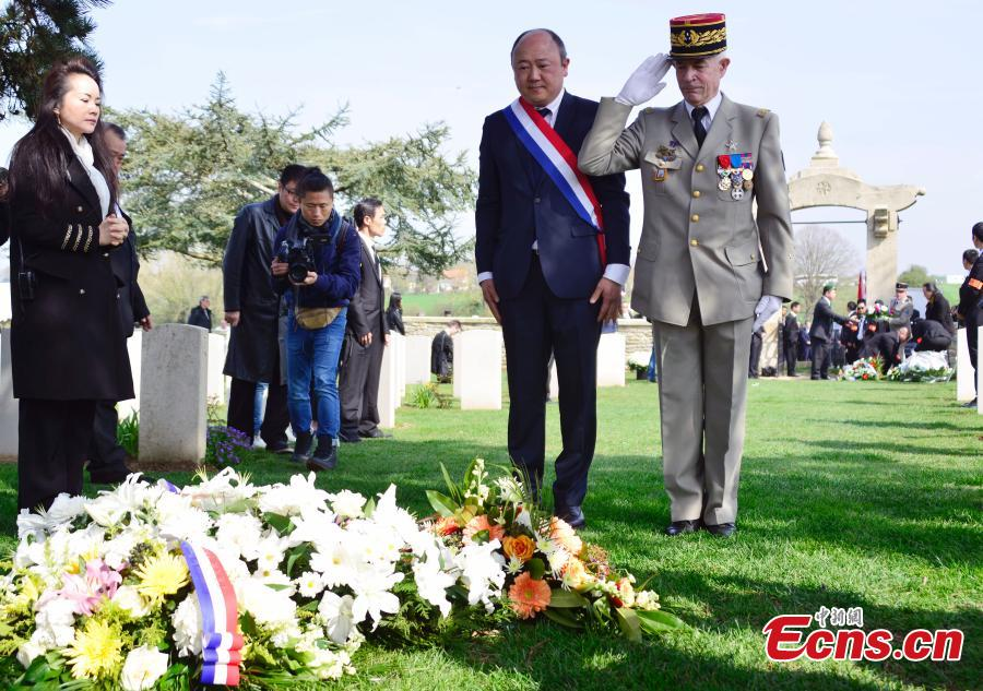 Chinese laborers in WWI remembered in France