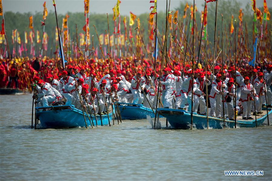 Qintong Boat Festival marked in Taizhou