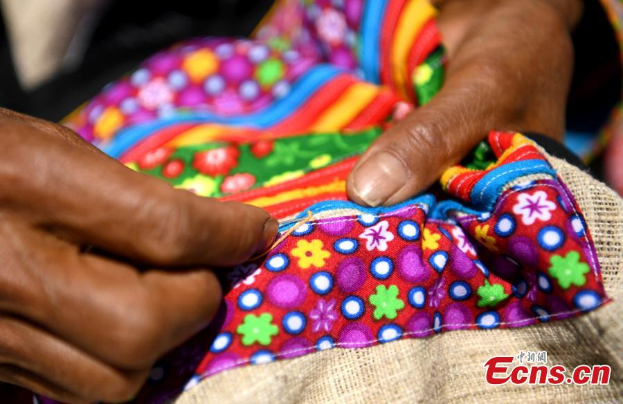 Traditional Lisu clothing a dying craft