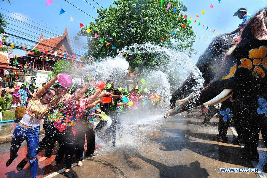 Water festival celebrated in Thailand