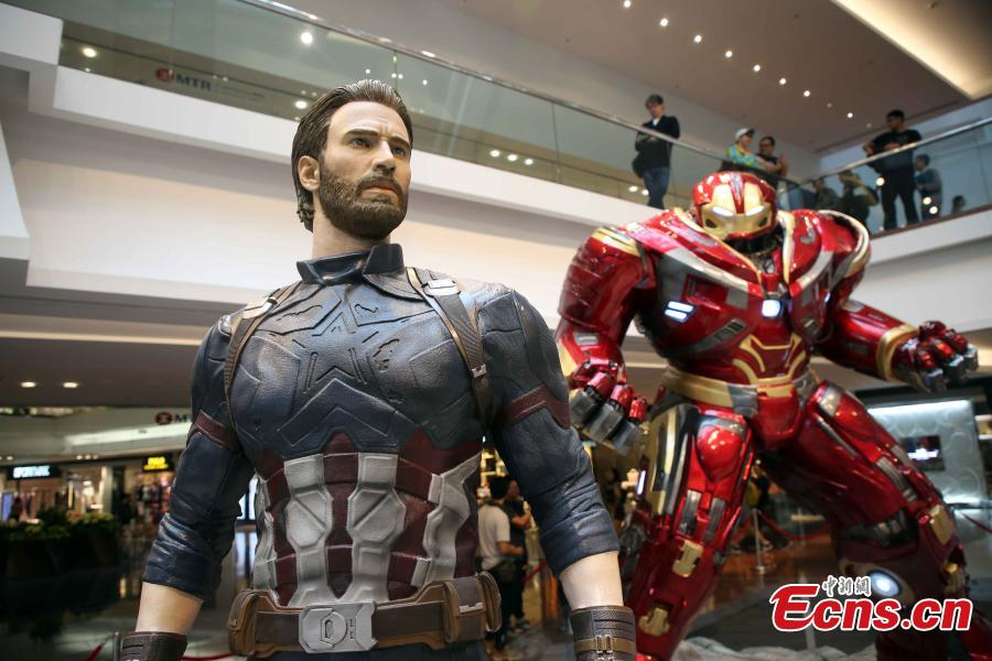 Marvel Studios' 10th anniversary show in Hong Kong