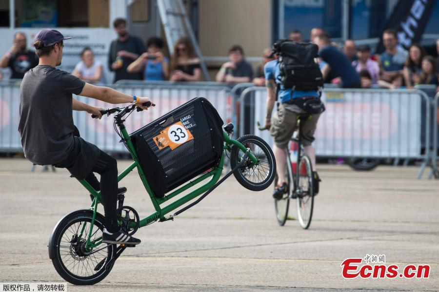Cargo bike festival in Berlin