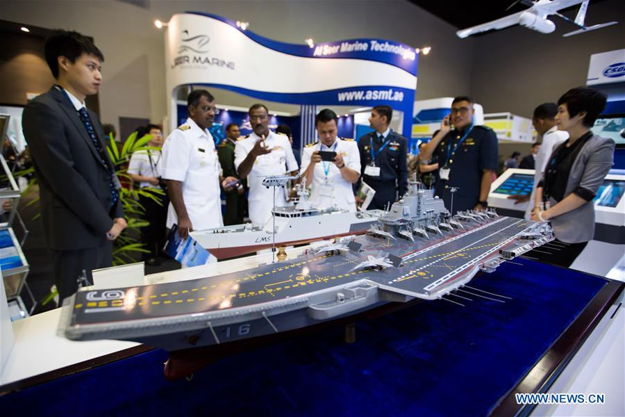 Defense and weaponry show opens in Malaysia