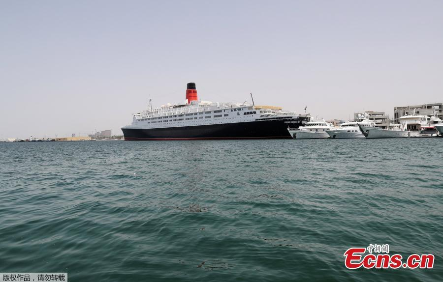 Famed Queen Elizabeth 2 ship now a floating hotel in Dubai