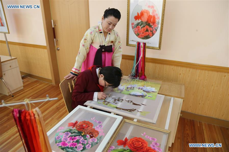 Life in Mangyongdae Schoolchildren's Palace on western outskirts of Pyongyang