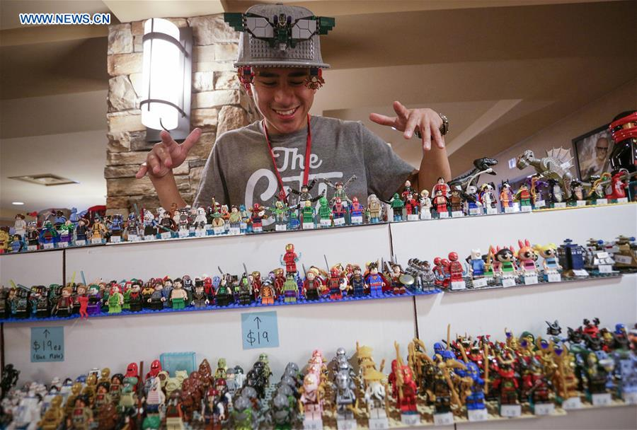 BrickCan LEGO convention held in Vancouver, Canada