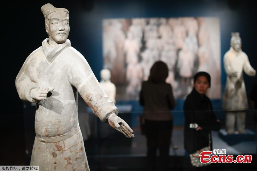 Terracotta army exhibit opens at Cincinnati Art Museum