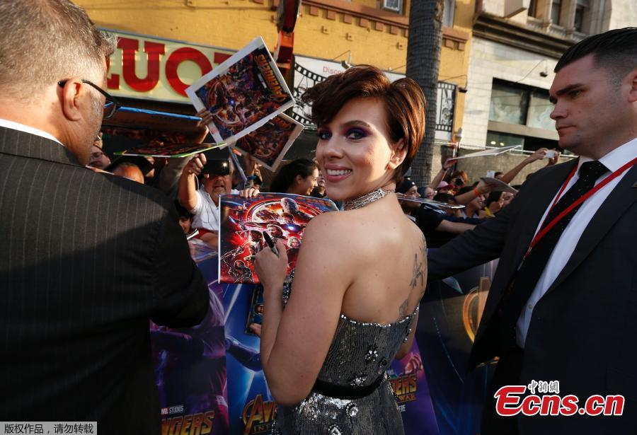 Avengers: Infinity War world premiere opens in Los Angeles